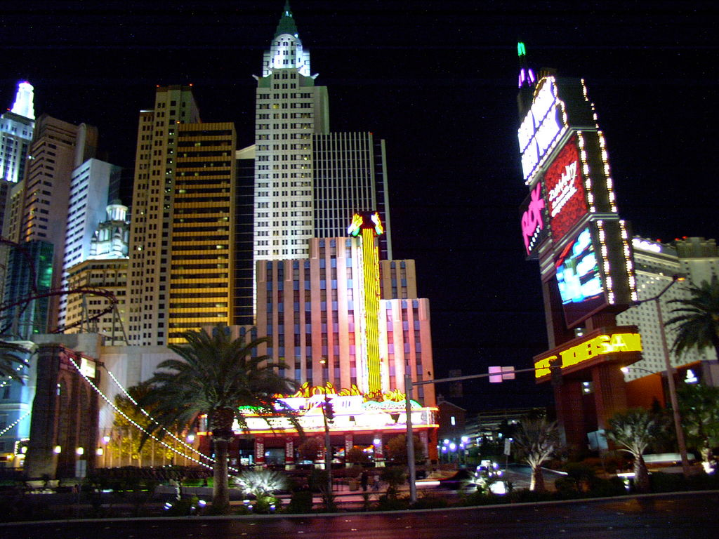 Las Vegas (NV) in the night